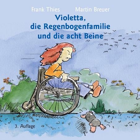 Violetta, die Regenbogenfamilie und die acht Beine - Cover
